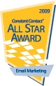 Constant Contact 2009 All Star Award