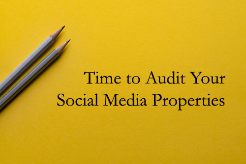 Audit Your Social Media Accounts