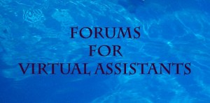 forums for virtual assistants